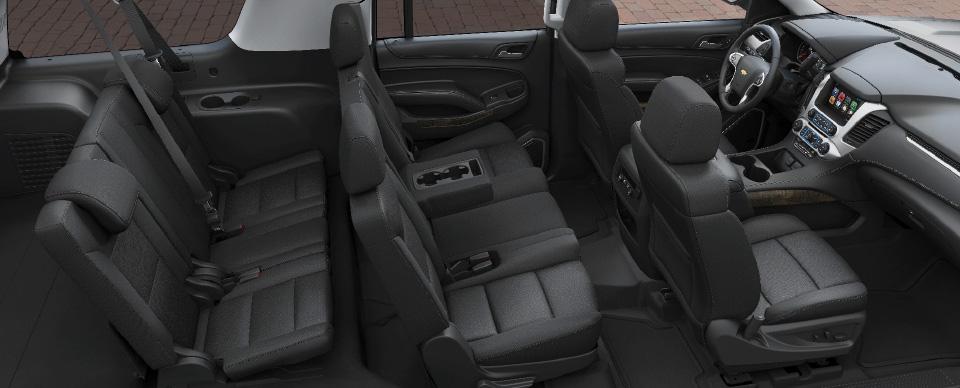 SUV Interior - C&L Westchester Transportation